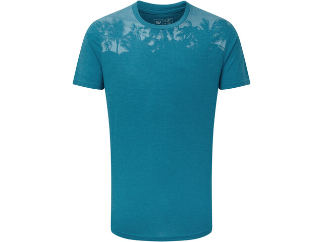 tentree Palm Classic T-Shirt Men, blue lake blue heather